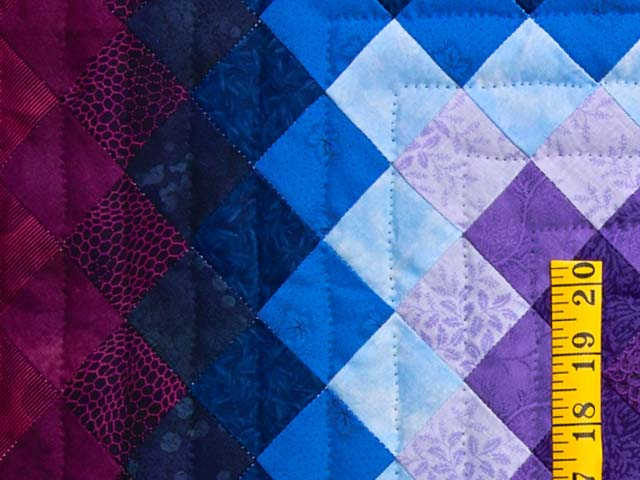 Almost Amish Trip Around the World Quilt Photo 5