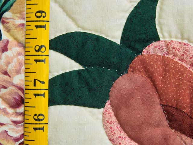 Rose and Wheat I Promised You a Rose Garden Quilt Photo 6