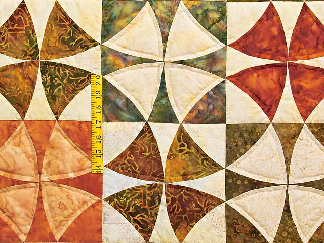Hand Painted Winding Ways Quilt Photo 5