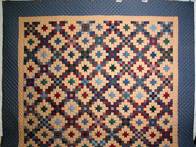 Old Thyme Chain and  Stars Quilt Photo 2