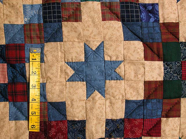 Old Thyme Chain and  Stars Quilt Photo 4