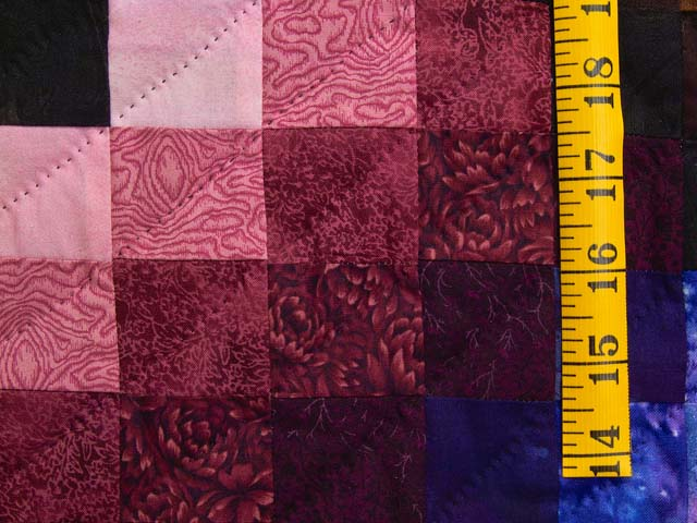 Almost Amish Bargello Links Quilt Photo 6
