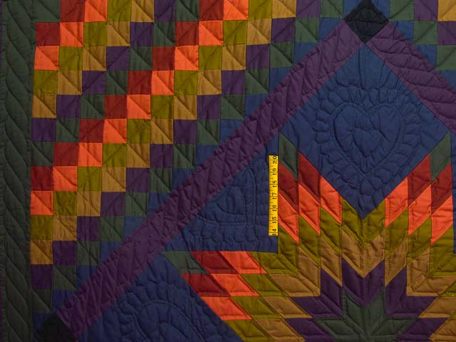 Amish Lone Star Trip Quilt Photo 4