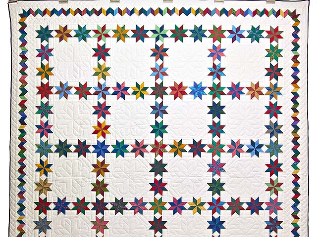 Multicolor Starry Path Quilt Photo 2