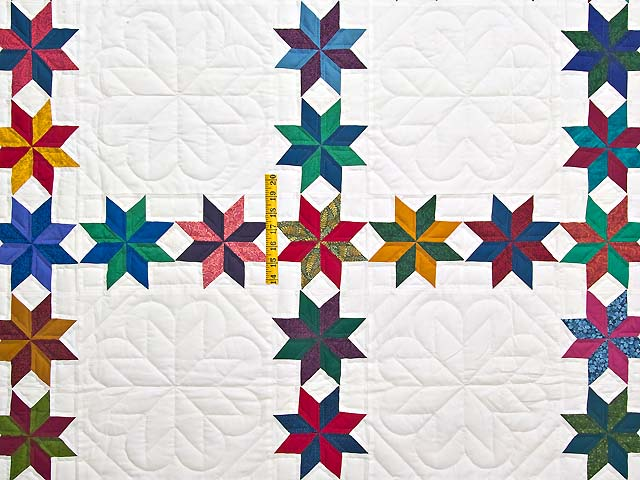 Multicolor Starry Path Quilt Photo 4