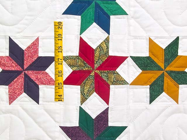 Multicolor Starry Path Quilt Photo 5