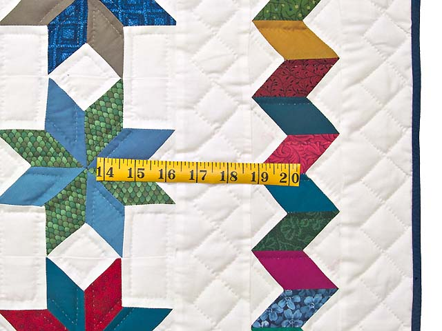 Multicolor Starry Path Quilt Photo 6