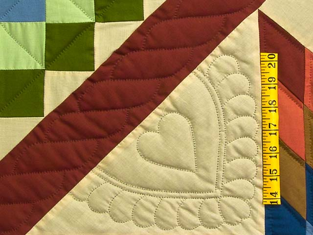 Amish Paper Bag Lone Star Trip Quilt Photo 5