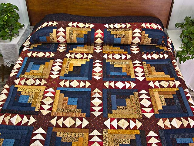 King Country Colors Homeward Bound Quilt Photo 1