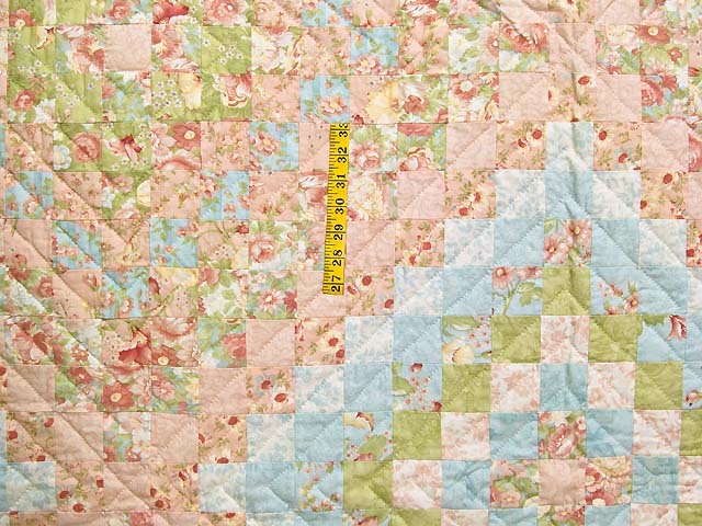 King Pastel Mosaic Quilt Photo 4