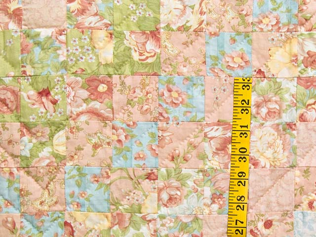 King Pastel Mosaic Quilt Photo 5