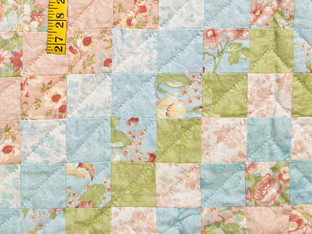 King Pastel Mosaic Quilt Photo 6