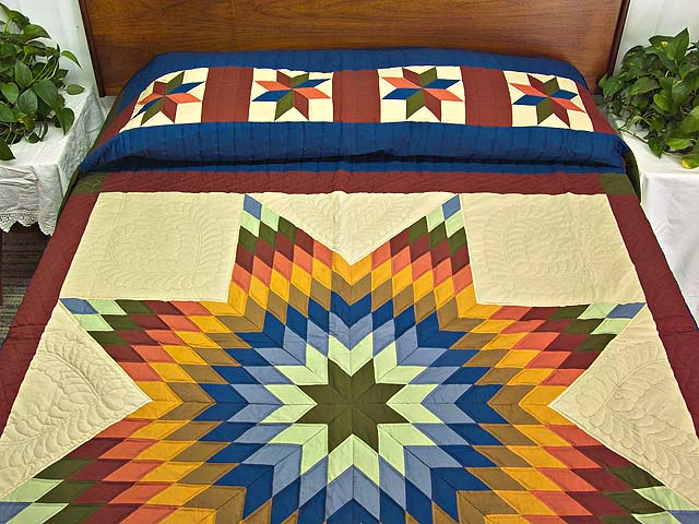 Southwest Colors Lone Star Quilt Photo 1