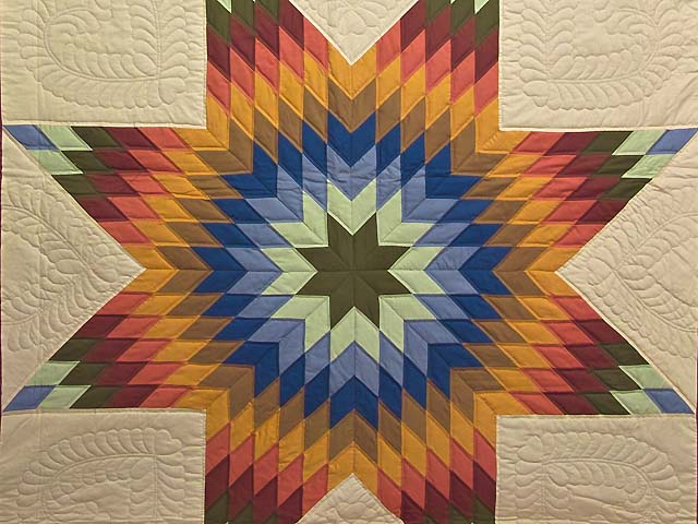 Southwest Colors Lone Star Quilt Photo 3