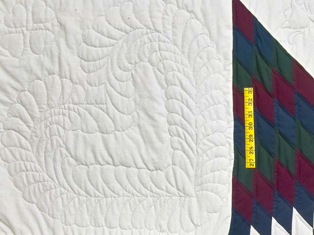 Amish Bright Lone Star Quilt Photo 5
