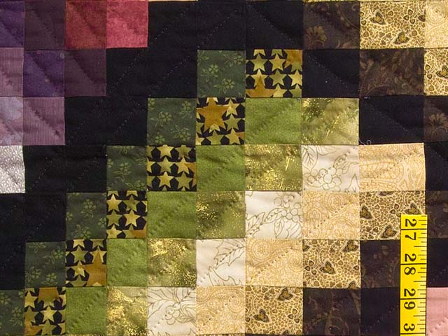 Multicolor Bargello Links Quilt Photo 5