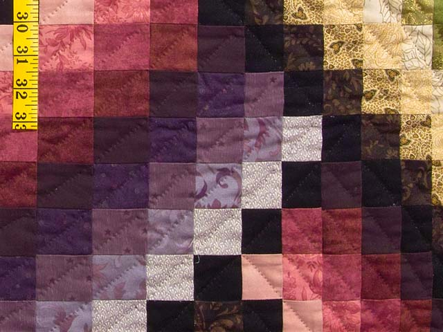 Multicolor Bargello Links Quilt Photo 6