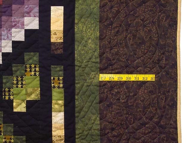 Multicolor Bargello Links Quilt Photo 7