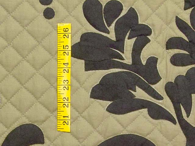 King Moss and Black Laura Quilt with Shams Photo 6