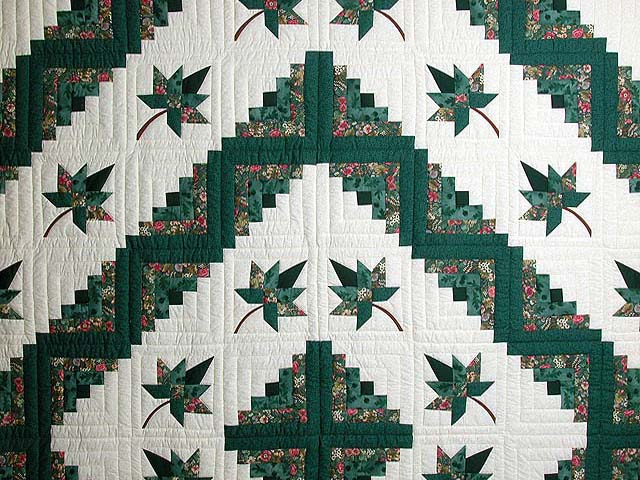Green Cabin Splendor Quilt Photo 3
