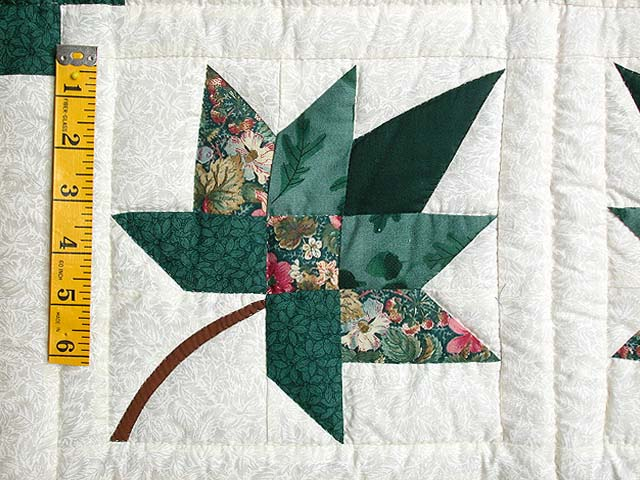Green Cabin Splendor Quilt Photo 4