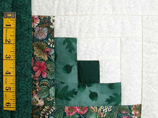 Green Cabin Splendor Quilt Photo 5