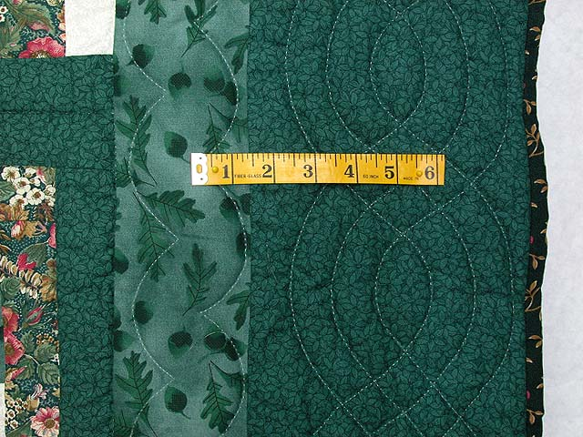 Green Cabin Splendor Quilt Photo 6