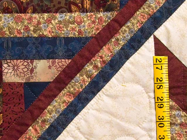 Country Colors Lone Star Log Cabin Quilt Photo 6