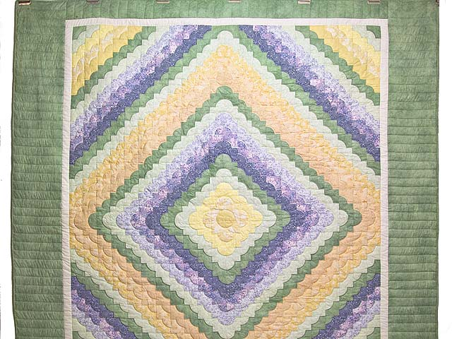Pastel Ocean Wave Quilt Photo 2