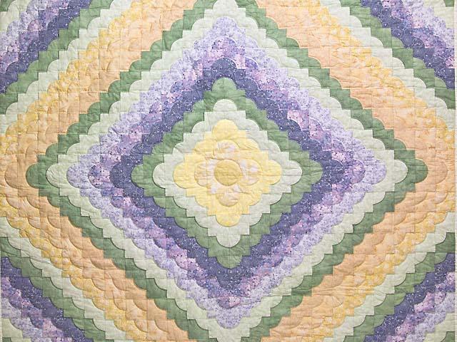 Pastel Ocean Wave Quilt Photo 3