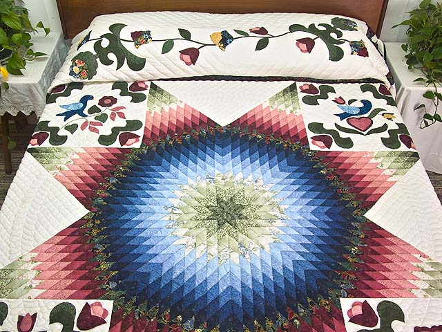 Pennsylvania Dutch Star Quilt Photo 1