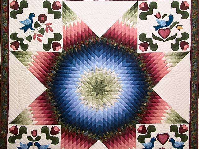 Pennsylvania Dutch Star Quilt Photo 3