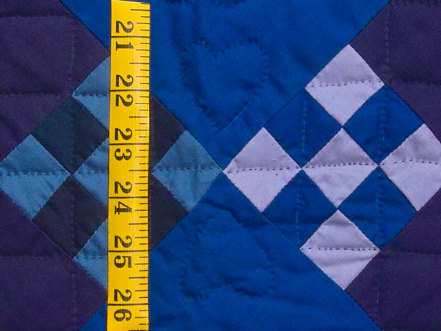 Amish Double Nine Patch Quilt Photo 5