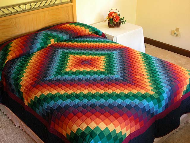 Rainbow Trip Around the World Quilt Photo 1