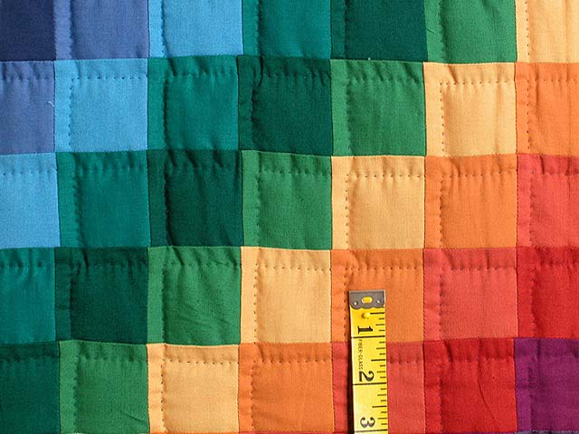 Rainbow Trip Around the World Quilt Photo 5