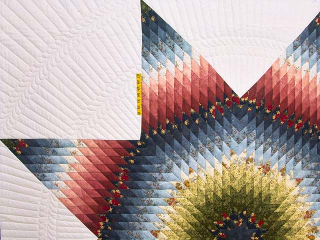 King Multicolor Lone Star Quilt Photo 4