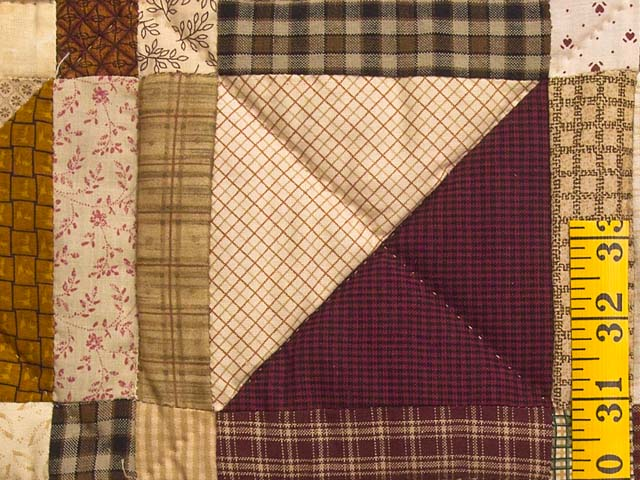 Country Colors Homespun Squares Quilt Photo 5