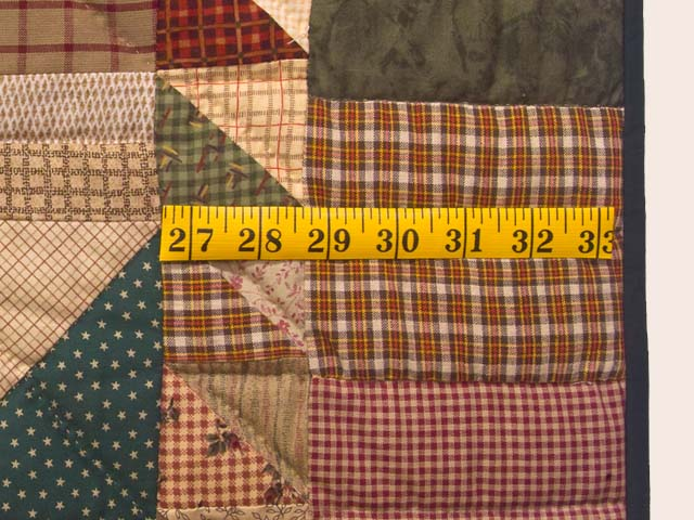 Country Colors Homespun Squares Quilt Photo 7