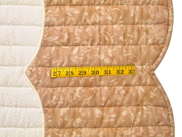 King Peach and Green Heart of Roses Quilt Photo 7