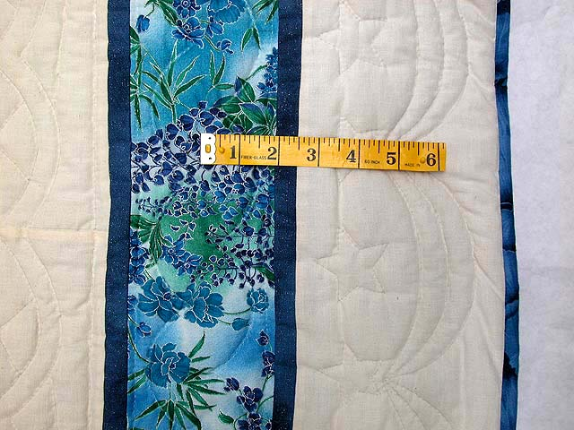 Blue and Multi Indiana Star Quilt Photo 7