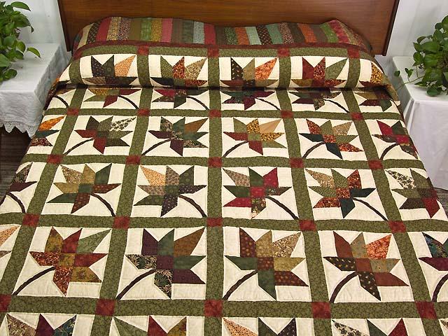 Earth Tones Autumn Splendor Quilt Photo 1