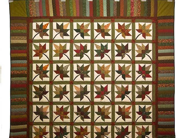 Earth Tones Autumn Splendor Quilt Photo 2