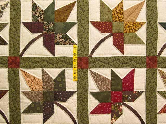 Earth Tones Autumn Splendor Quilt Photo 4