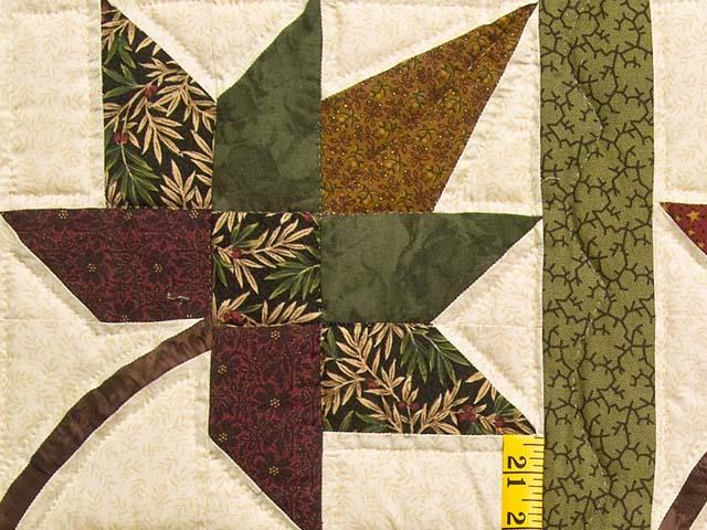 Earth Tones Autumn Splendor Quilt Photo 5