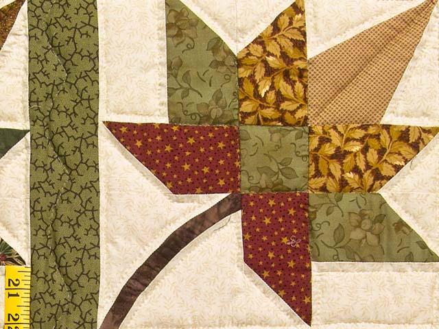Earth Tones Autumn Splendor Quilt Photo 6