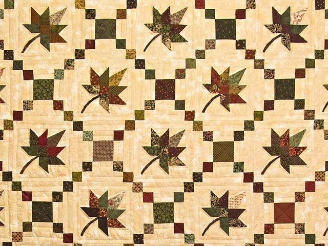 Earthtones Autumn Wind Quilt Photo 3