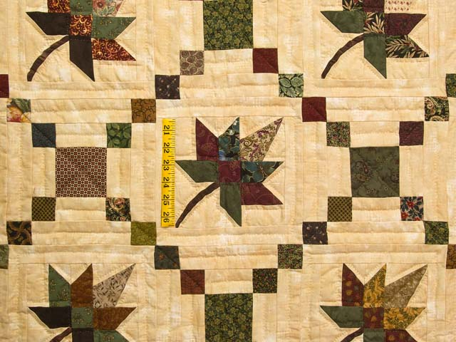 Earthtones Autumn Wind Quilt Photo 4