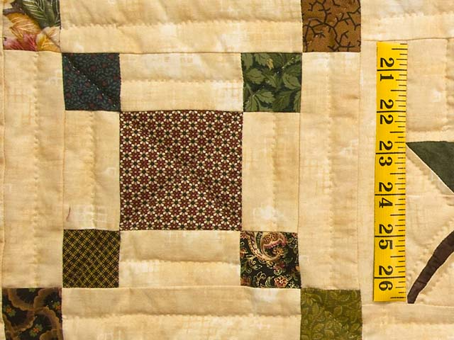 Earthtones Autumn Wind Quilt Photo 6
