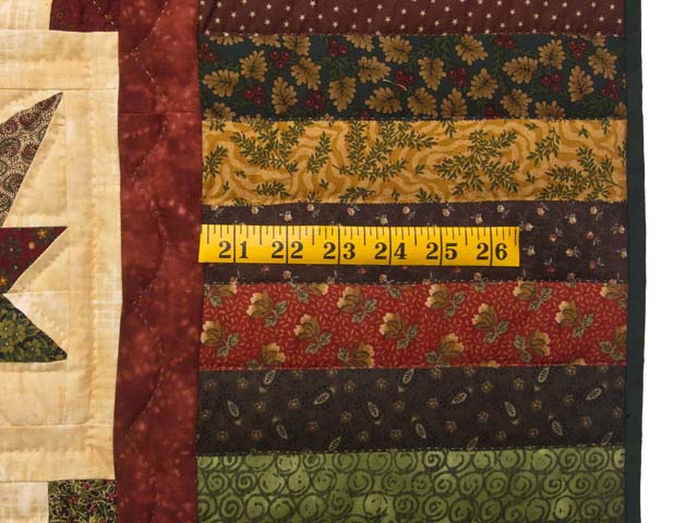 Earthtones Autumn Wind Quilt Photo 7