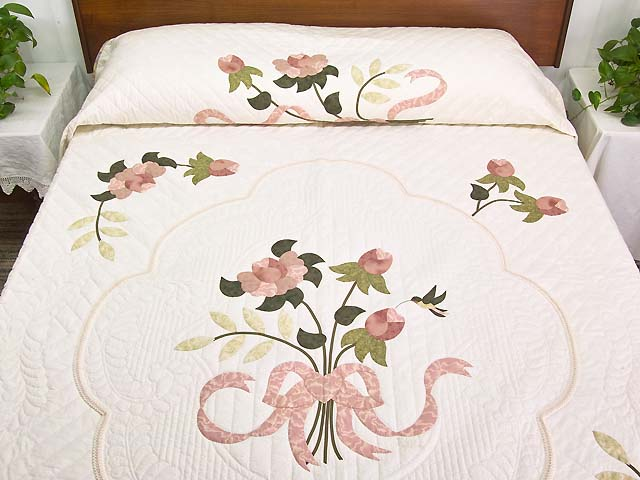 Dusty Rose Lancaster Treasures Quilt Photo 1